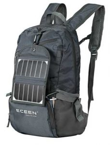 best medium rucksack eceen solar powered hiking daypack for hiking solar power rucksack with solar panel for backpacking review