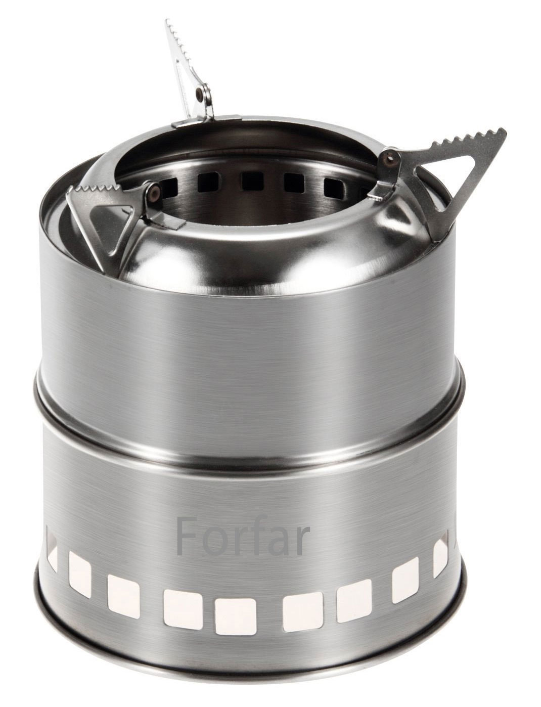 Forfar camping stove portable stoves stainless steel stove charcoal solidified alcohol wood camp stove best camp stove for trekking guide