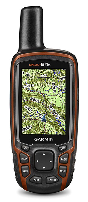Garmin 64S Handheld GPS with TOPO UK Ireland Light Map with Barometric Altimeter and 3 Axis Compass gps navigation