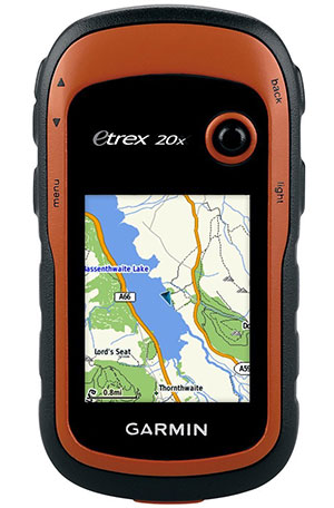 Garmin eTrex 20x Handheld GPS Unit with TopoActive Western Europe Maps camping things to take trekking gps navigation